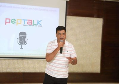Great learning for all age groups at pep talk india