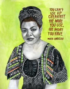 Maya Angelou, Public Speaking, Pep Talk