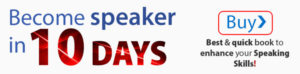 Become Speaker in 50 Days
