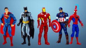 Using superheroes