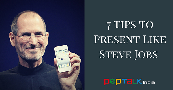 7 Tips To Present Like Steve Jobs – Boost Your Presentation Skills!