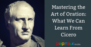 Cicero and the art of oration
