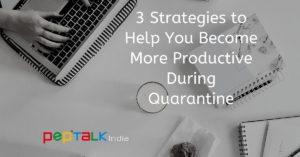 Become more productive quarantine