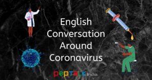 English Conversation Around Coronavirus