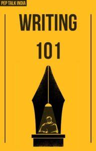 Writing 101 Pep Talk