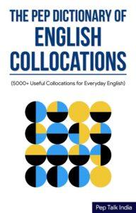 Collocation Dictionary Pep Talk